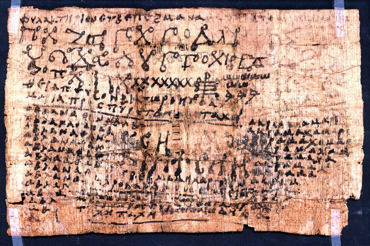 Cologne-Inv.-10208 A Coptic Greek Fever Amulet