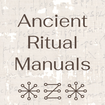 Live Webinar Ancient Ritual Manuals